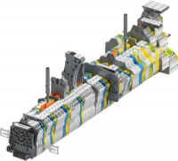 SNK 2直插式弹簧接线端子